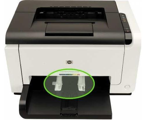 Tiskárna s podavačem na střed